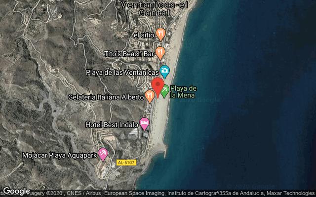 Location of RESTAURANTE CABO NORTE